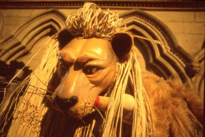 Lion in Minster 2000